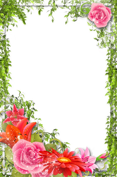 Открытки с днем рождения с пустым полем под текст вертикально