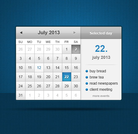 Календари для wp