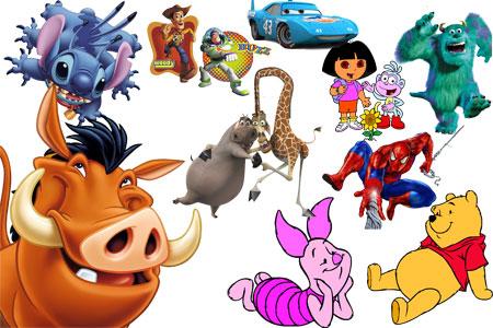 картинки из детских мультфильмов