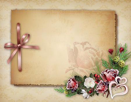Шаблоны на поздравительные открытки