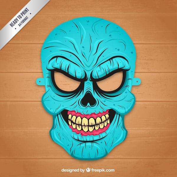 Зомби маска в домашних условиях