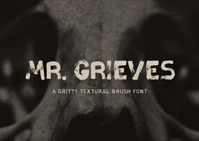 Шрифт - Mr. Grieves