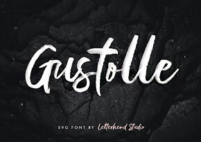 Шрифт - Gustolle