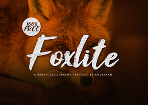Шрифт - Foxlite