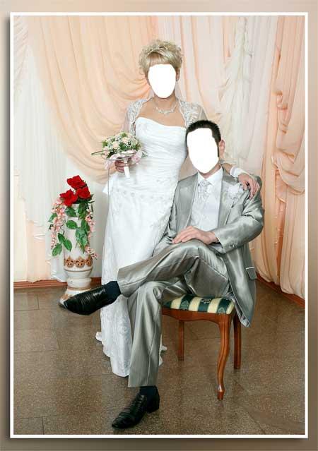 Шаблон для фото - Жених и