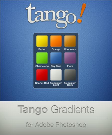Градиенты для фотошопа - Танго