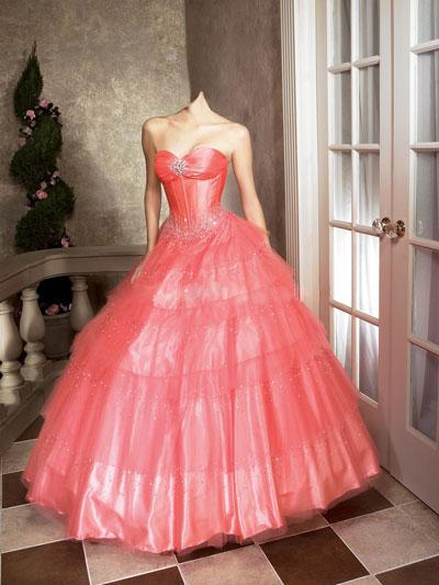 Платья бальные девушек
