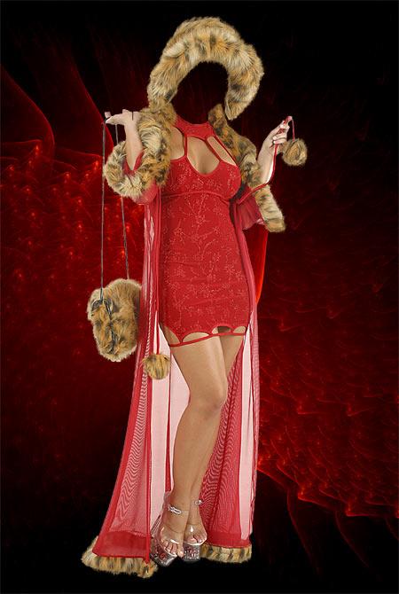 Шаблон фотошоп женский красавица