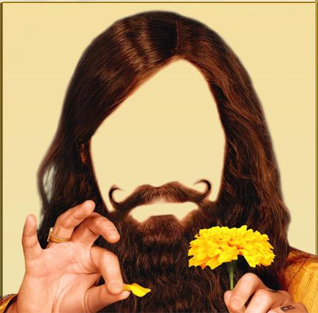 Скачать Борода шаблон PSD