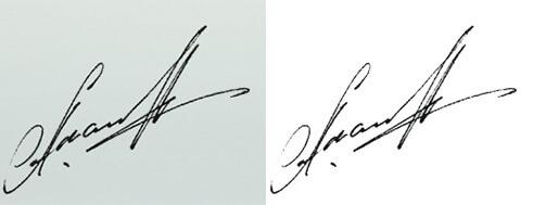 Как сделать подпись в фотошопе 512