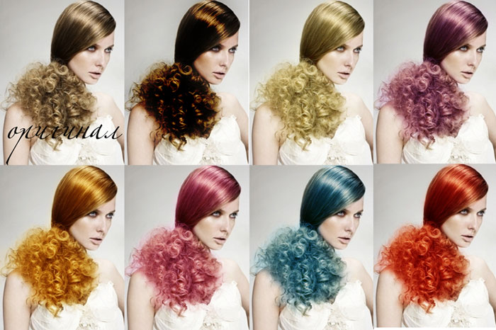 фотошоп для волос