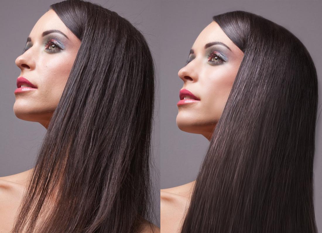 Как добавить волосам объем в фотошопе