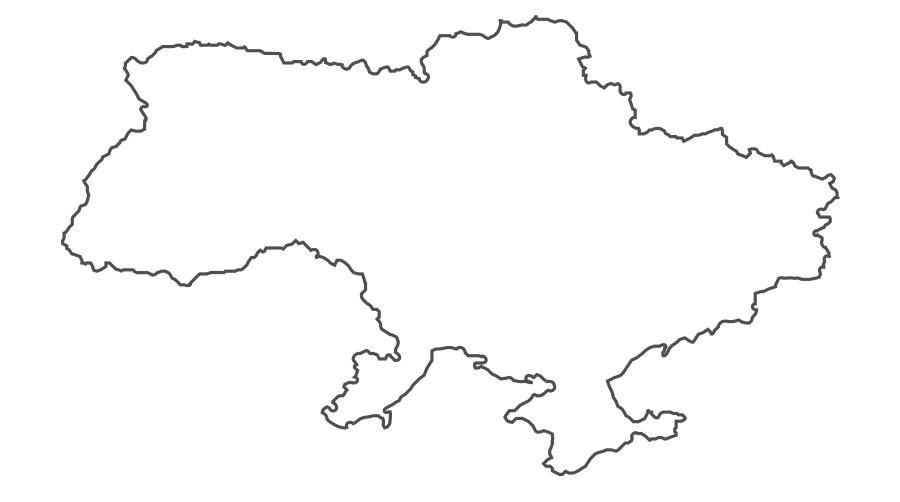 Как нарисовать карту украины