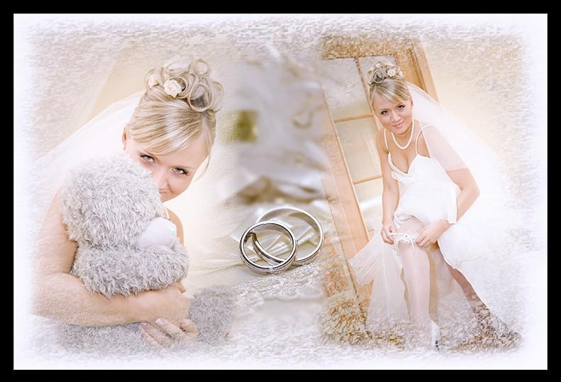 Коллаж свадебный для фотошопа