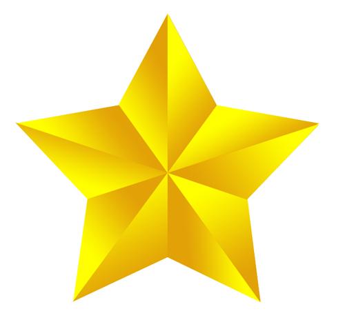 Фотошоп как нарисовать звёздочку