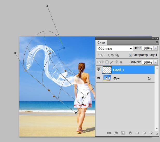 Как сделать ткань в фотошоп