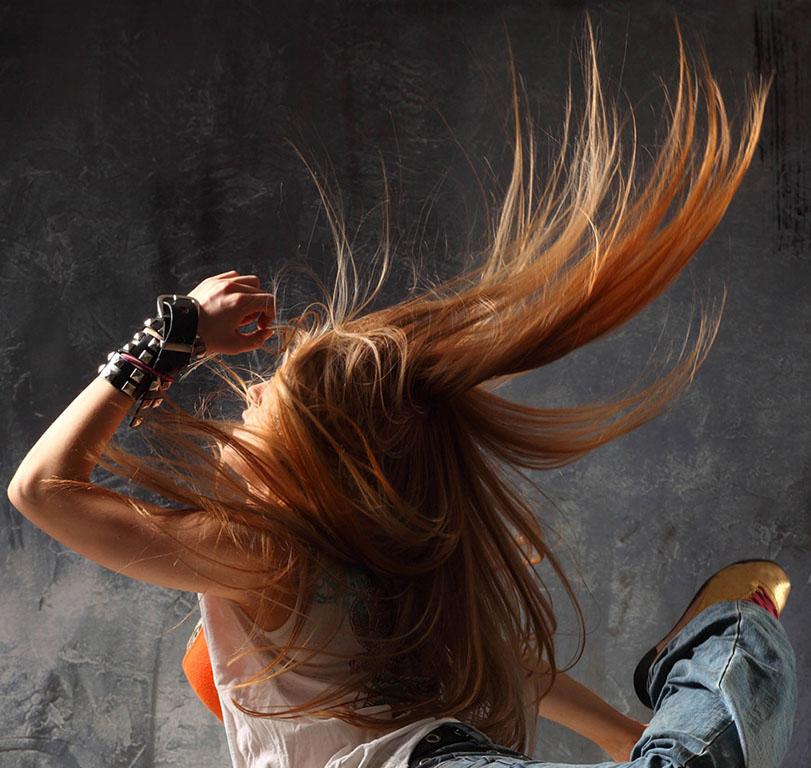 Развивающиеся волос в фотошопе