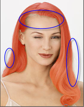 онлайн подбор цвета волос по фото