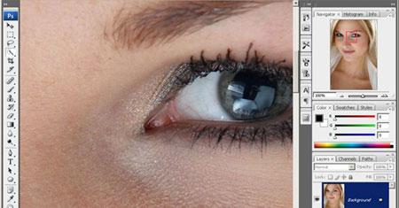 Урок фотошоп: профессиональная ретушь кожи лица с сохранением естественной текстуры