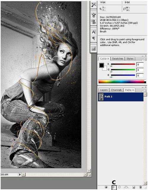 Уроки Photoshop - как самому в фотошопе сделать аватарку с искрами