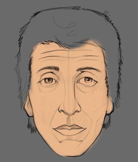 Как сделать портрет человека