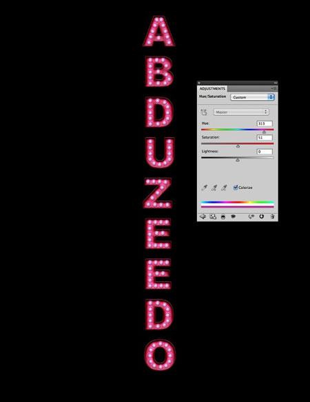 Создай в Фотошоп текст в стиле Казино