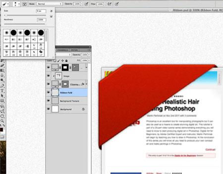Как сделать ленту фото в фотошопе