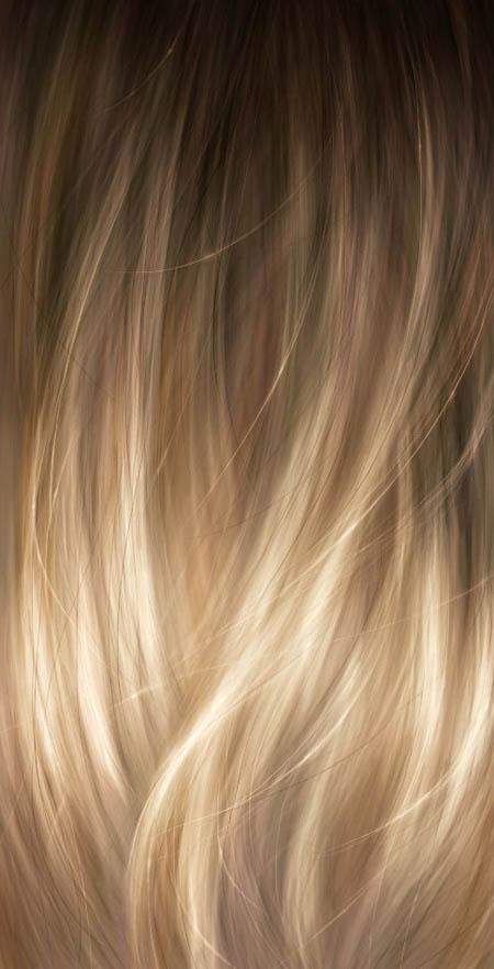 Текстура волос для фотошопа
