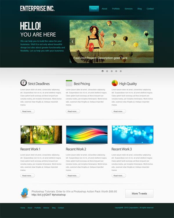 Макета для сайта программу создания