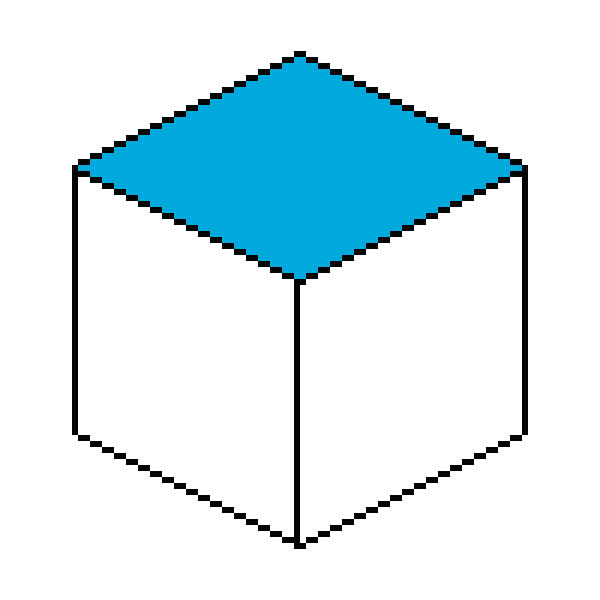 Изометрический пиксель арт в Фотошопе