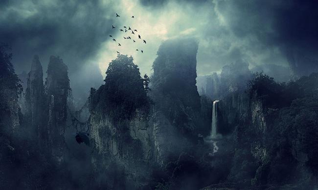 Фотошоп пейзаж