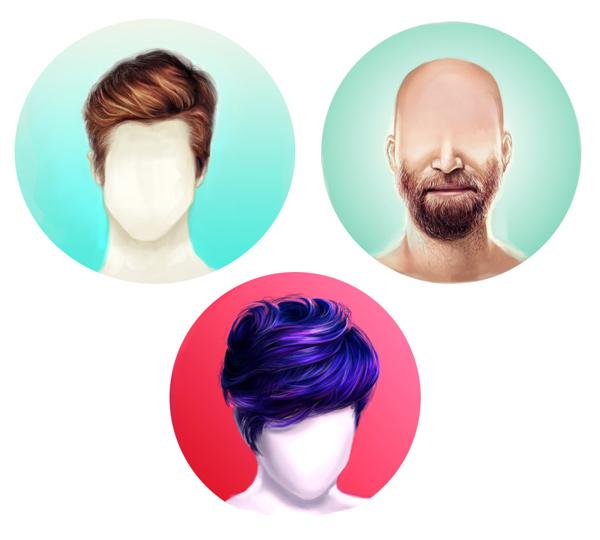 Как сделать длиннее волосы в фотошопе