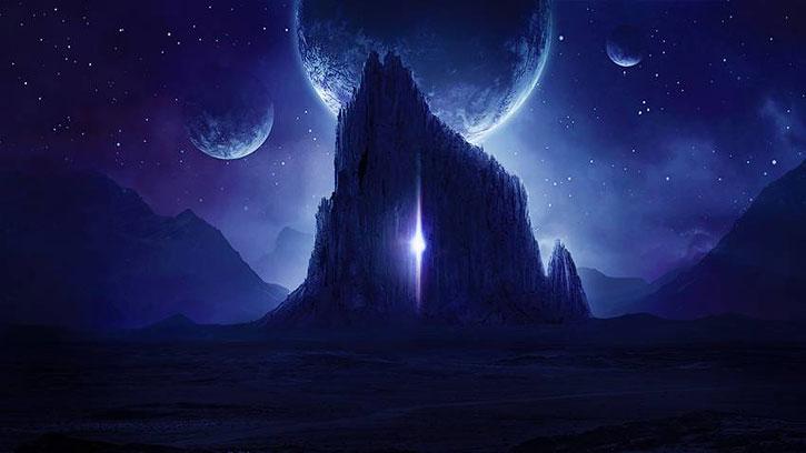 Create a Sci-Fi night landscape in Photoshop