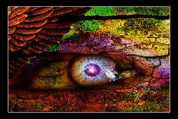 Глаз друида, классный эффект в фотошоп, уроки фотошоп